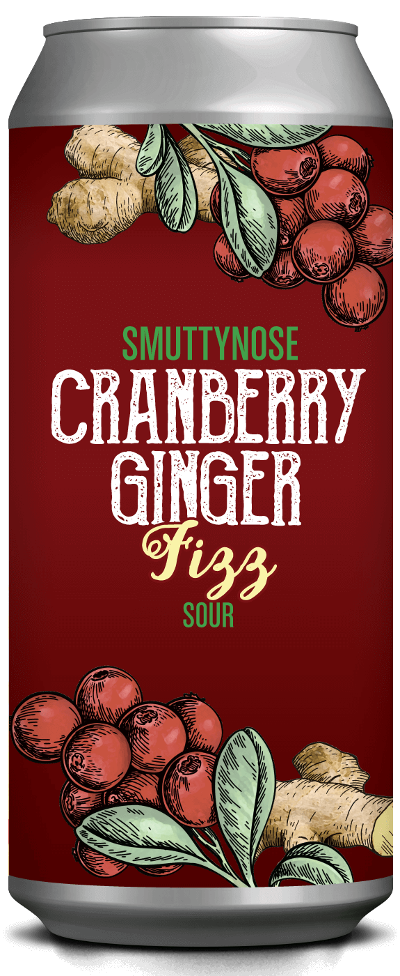 CRANBERRY GINGER FIZZ SOUR