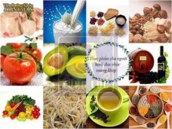 Thực phẩm tốt cho xương khớp