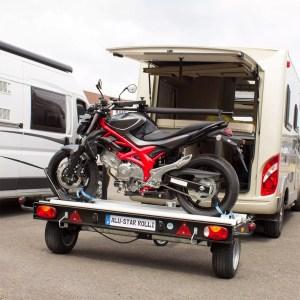 Alu-Star Rolli   auch für schwere Motorräder geeignet