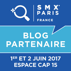 SMX France Blog partner 2016