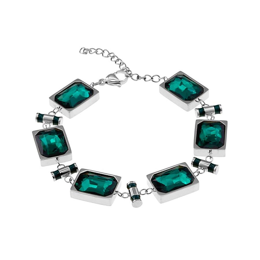 Esmeralda-bracelet-steel