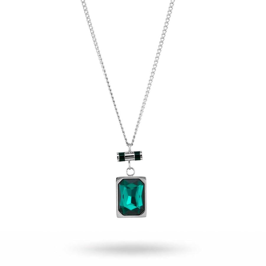 Esmeralda-necklace-steel