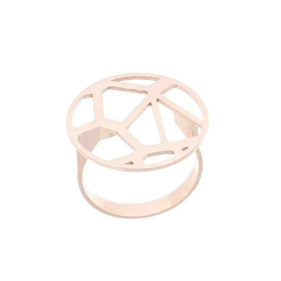 Voronoii-ring-raw-bronze-1