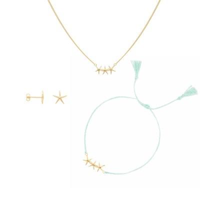 Starfish Set, guld