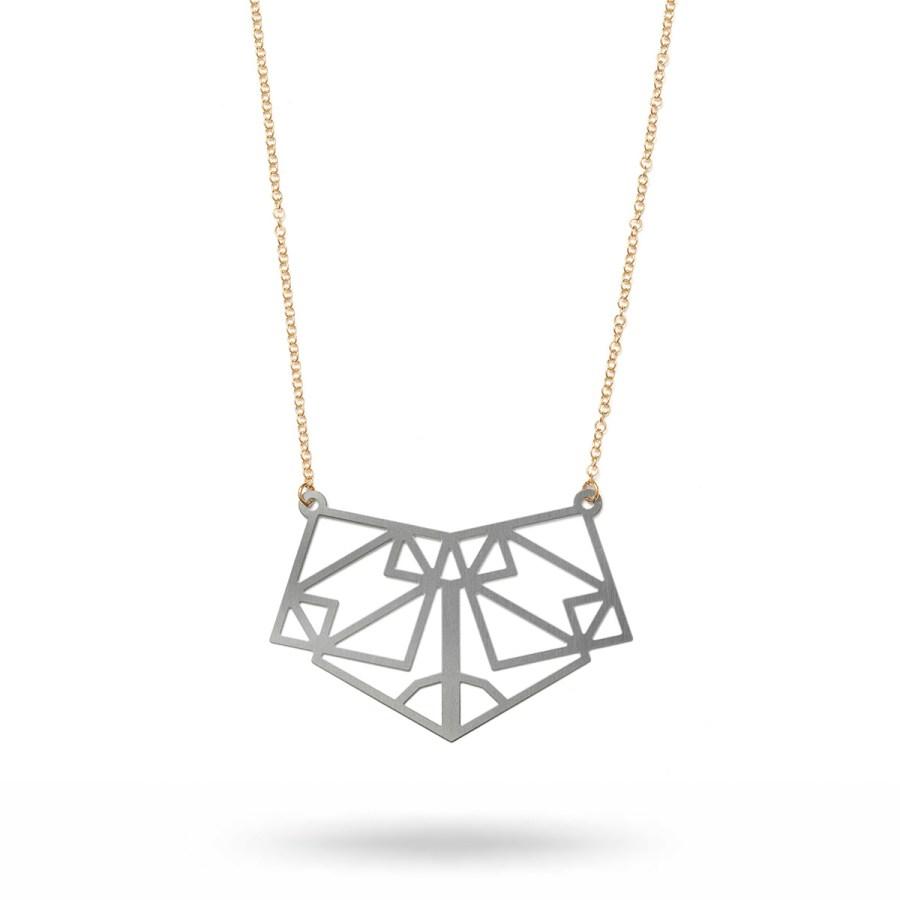 Symmetric halsband, stål
