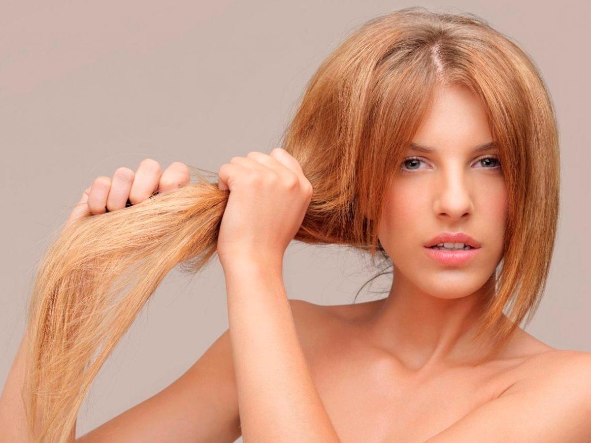 Сухая кожа жирные волосы