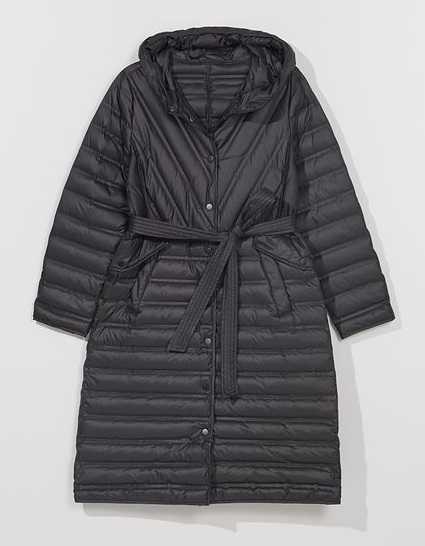Женские стеганые пальто на весну 2021