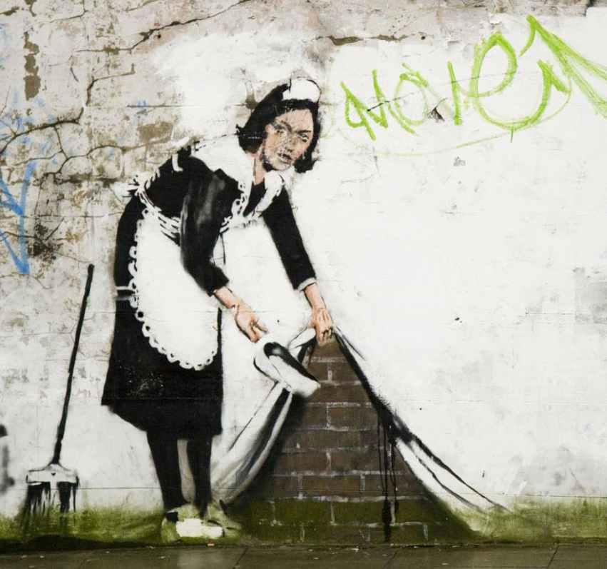 19 произведений уличного искусства