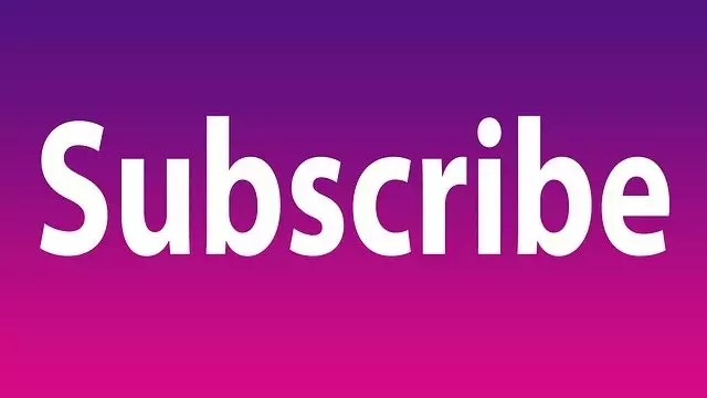 Subscribe Subscribe Button Youtube  - image4d / Pixabay