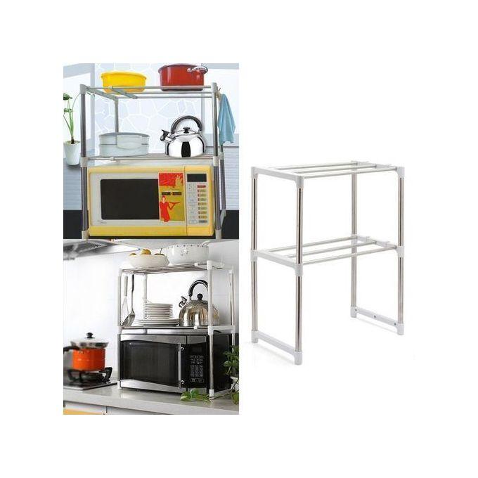 meuble de rangement pratique pour mini four et micro ondes