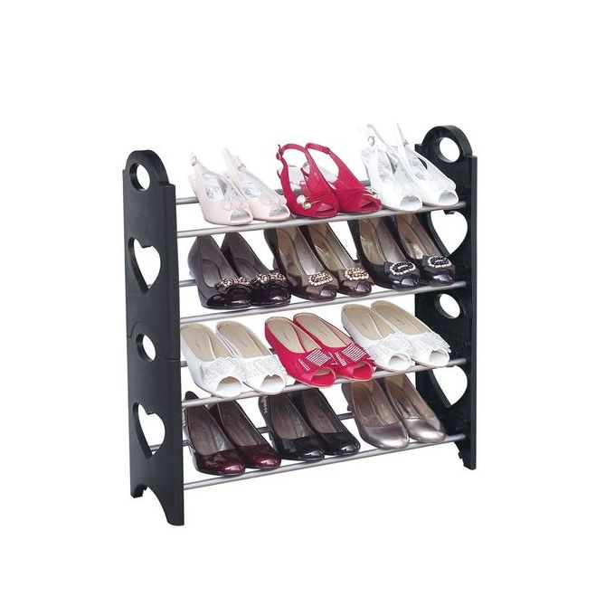 range chaussures 4 etageres 12 paires