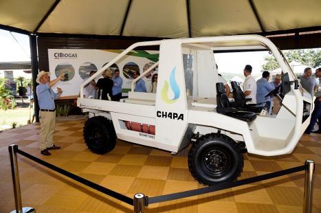 Diferencial do veículo é o abastecimento com biometano, oriundo do refino do biogás