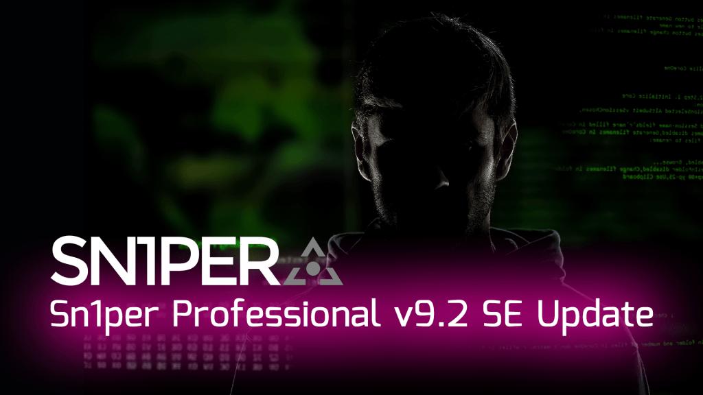 Sn1per Professional v9.1 Update