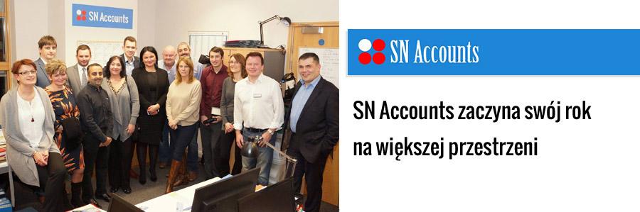SN Accounts zaczyna swój rok na większej przestrzeni