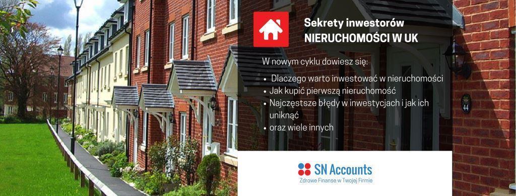 Sekrety inwestorów nieruchomości w UK
