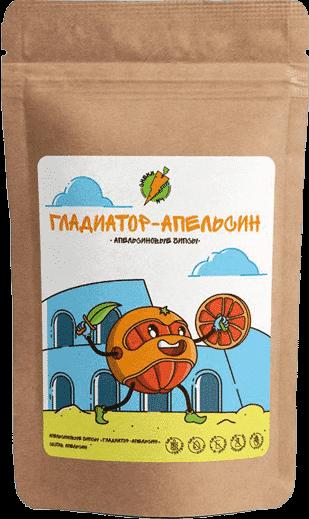 Апельсиновые чипсы Апельсиновый гладиатор - СНЕКИ №1