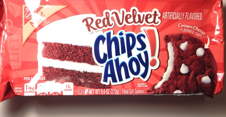 Strange Review Nabisco Red Velvet Chips Ahoy Cookies Snack Cellar Funny Birthday Cards Online Fluifree Goldxyz