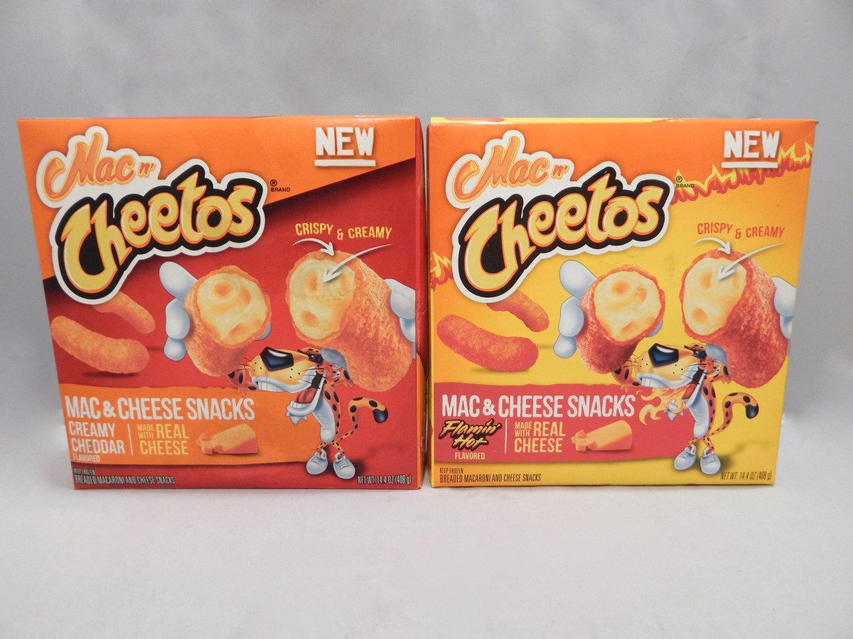 [2-Pack Review] Creamy Cheddar and Flamin' Hot Mac n' Cheetos