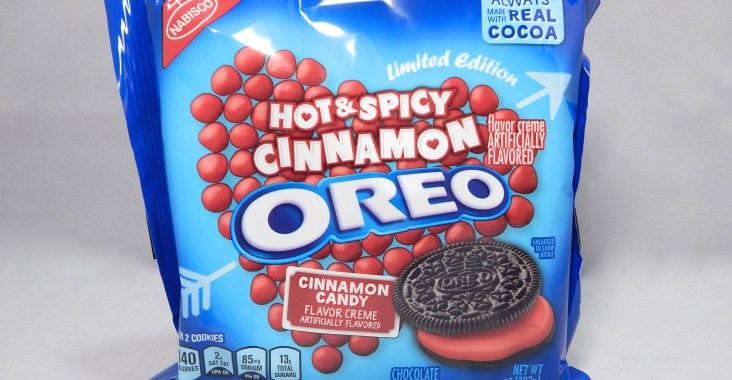 Review Nabisco Limited Edition Hot Spicy Cinnamon Oreos