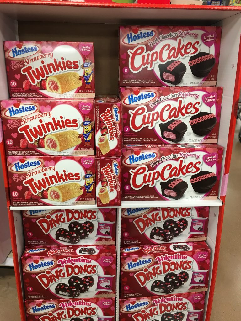 Found Hostess Valentines Day Twinkies Cupcakes Amp Ding