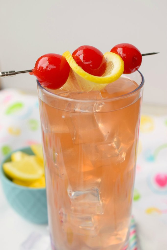A Spiked Raspberry Lemonade Cocktail is the perfect summer sipper for hot summer nights! A great blend of flavors perfect for summer or anytime!