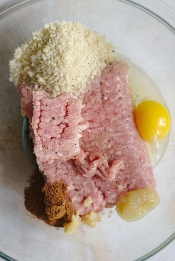 Pork Meatball Ingredients