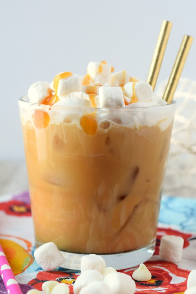Toasted Marshmallow Simple Syrup Recipe