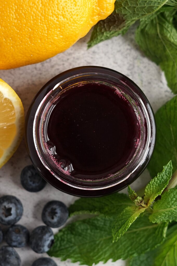 Blueberry Simple Syrup Recipe