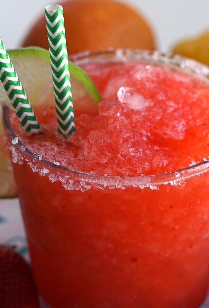 Homemade Strawberry Margarita