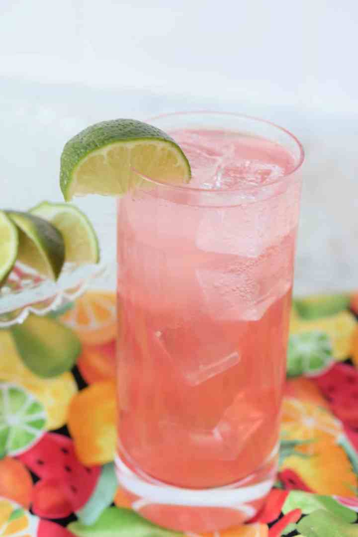 Sparkling Watermelon Lime Spritzer