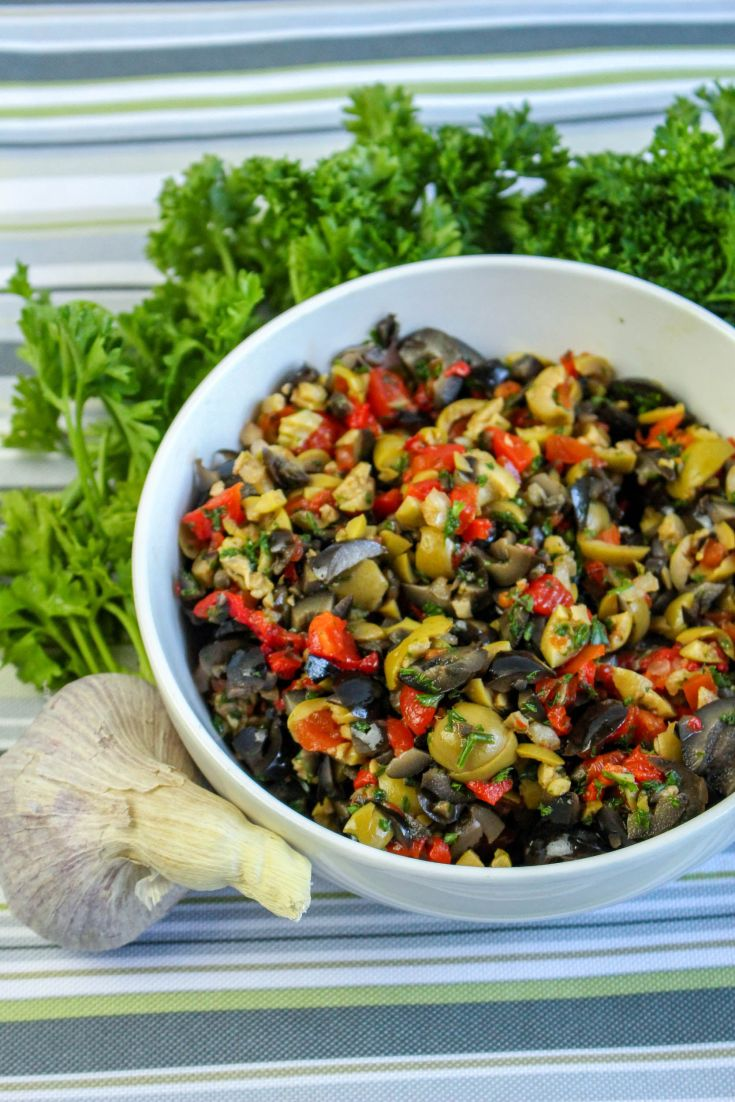 Savory Olive Tapenade