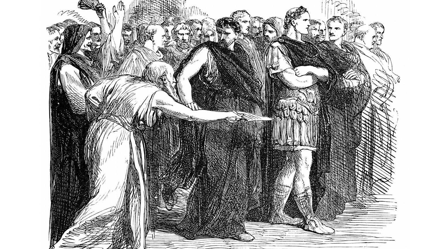 Julius Caesar The Matter Of Rome