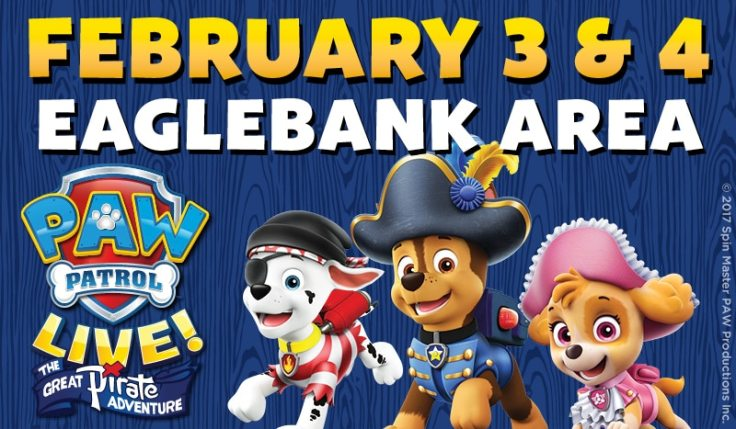 Image result for paw patrol live eagle bank arena