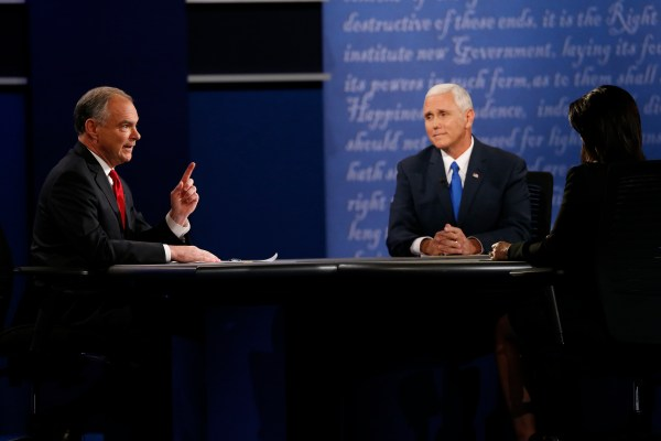 Pence, Kaine spar over national security in vice ...