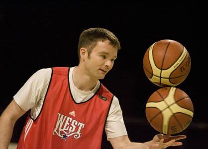 Tommy Baker Freestyle Basketball Legend