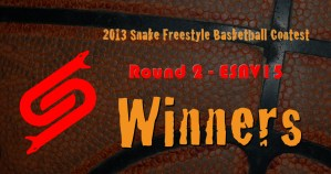 2013 Snake Contest Round2 Winners