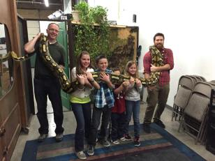 Jamison and Gavin visit Scales and Tails Utah