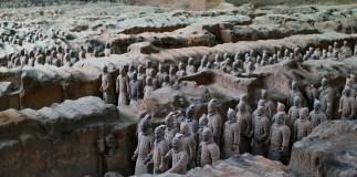 Terracotta, Xian