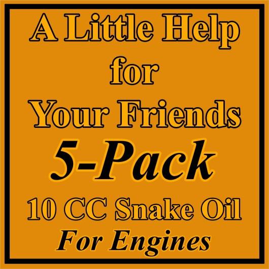 5 Pack 10 CC Engine Treatment