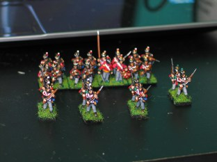 British Line Infantry c. 1814 - Line Formation