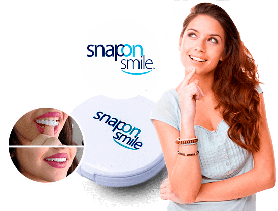 Съемные виниры Snap-On Smile | Низкая цена