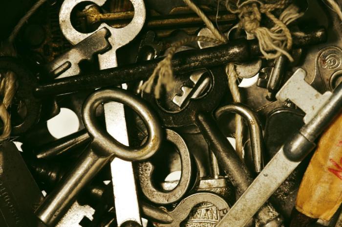 keys, padlocks