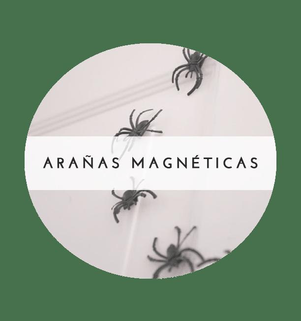 arañas magnéticas