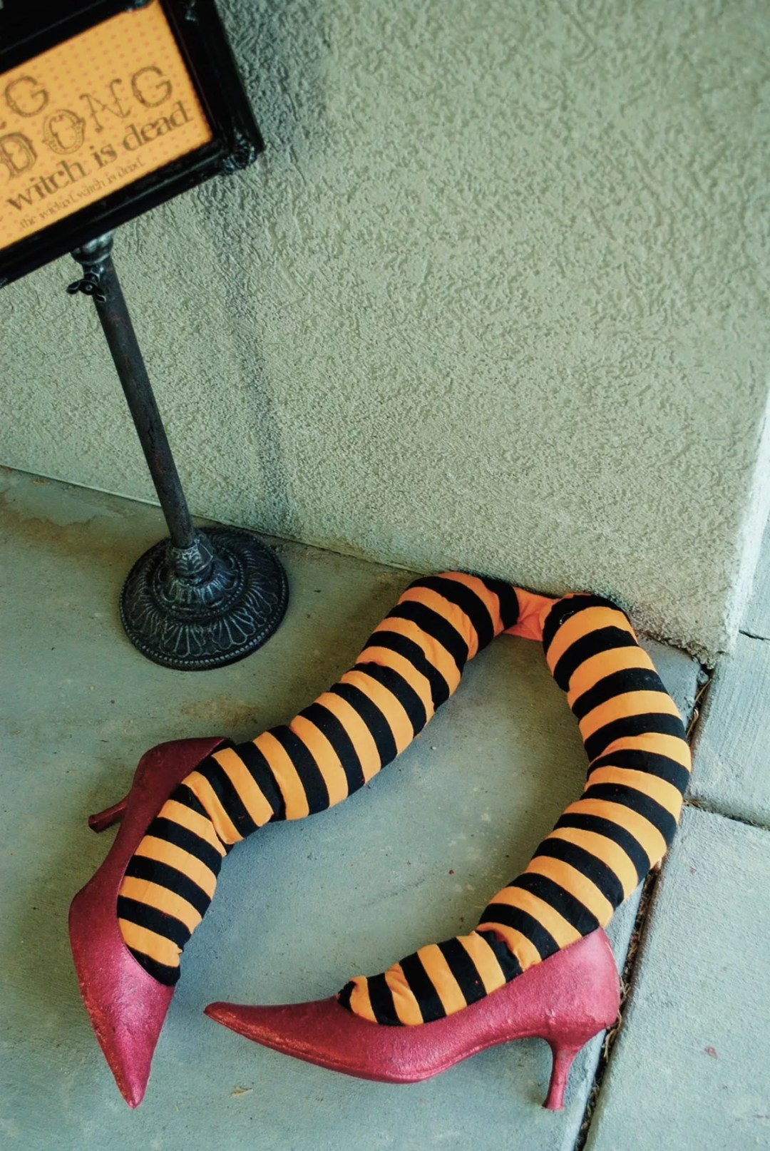 DIY piernas de bruja