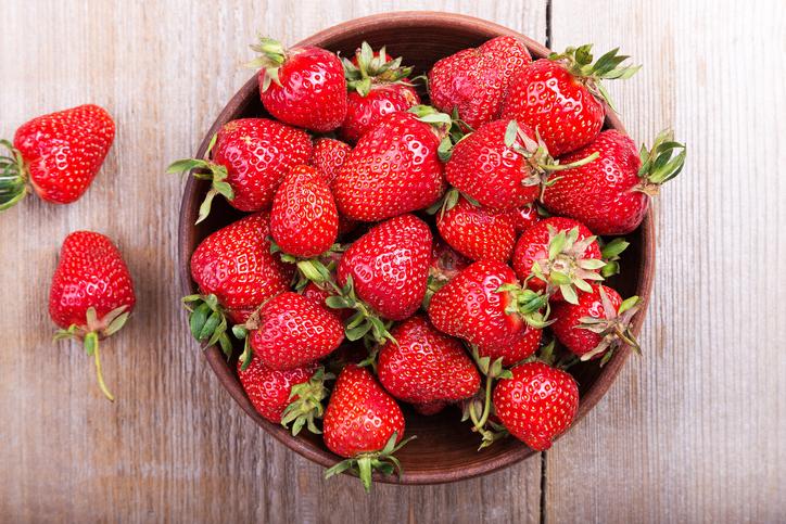 Strawberries Snap Ed