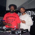 Questlove & DJ Graffiti at Plan B Nightclub in Detroit, Michigan