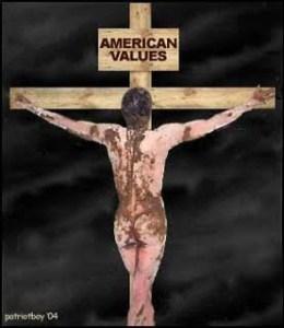Abu Ghraib CIA Crucified captive