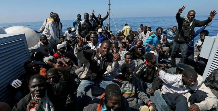 Migranter från Afrika
