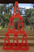 Traffic Cone Tower