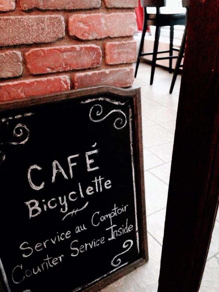 SnapHappyBunny Eats: Café Bicyclette (5/6)